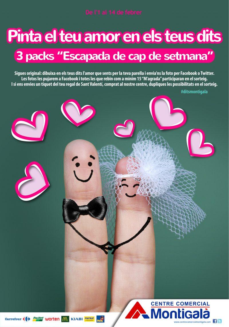 Pinta El Amor En Tus Dedos Centre Comercial Montigalà