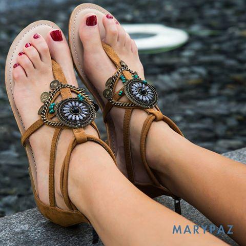 gran selección de diseñador nuevo y usado gran surtido Tus sandalias en Marypaz - Centre Comercial Montigalà
