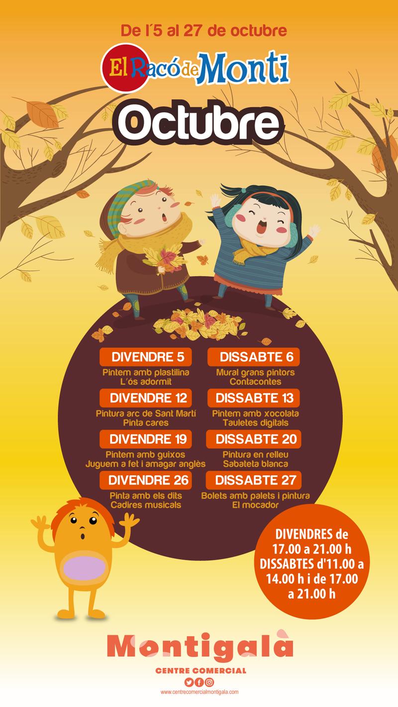 Calendario actividades infantiles