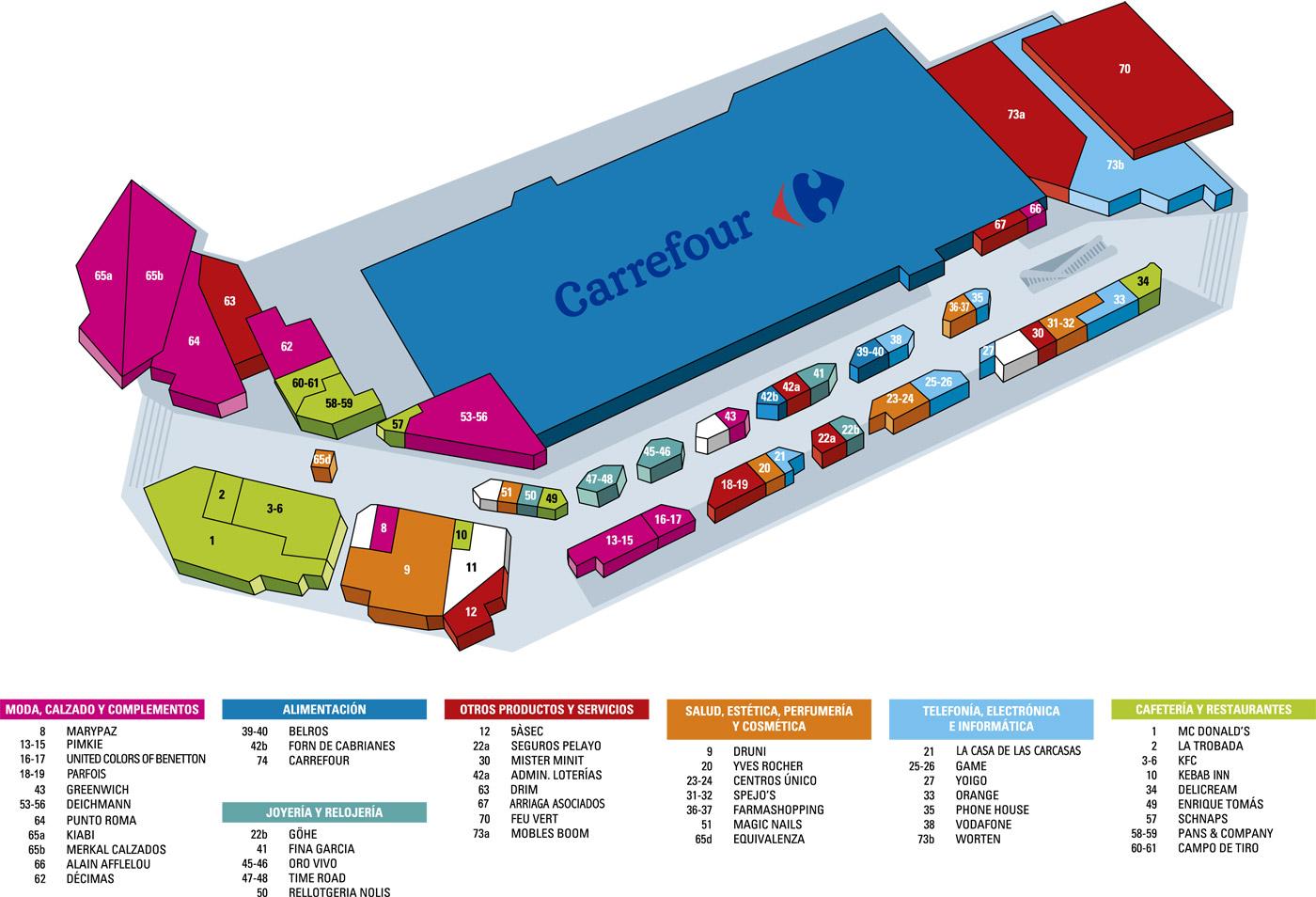 d724a5e441 Establiments i comerços del Centre Comercial Montigalà
